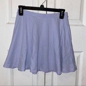 Forever21 Lilac / Periwinkle Skater Skirt